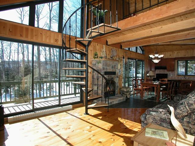 Foyer Design St Sauveur : Hébergement lodging saint sauveur québec canada