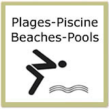Saint-Sauveur Quebec - Plages Piscine Beaches Pools